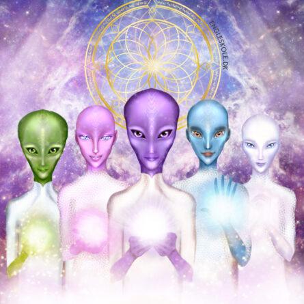 Stjerneenergier. Galaktiske lysvæsener